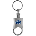 Penn St. Nittany Lions Key Chain Valet Printed