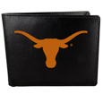 Texas Longhorns Leather Bi-fold Wallet, Large Logo