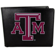 Texas A & M Aggies Leather Bi-fold Wallet, Large Logo