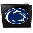 Penn St. Nittany Lions Leather Bi-fold Wallet, Large Logo