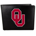 Oklahoma Sooners Leather Bi-fold Wallet, Large Logo