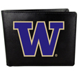 Washington Huskies Leather Bi-fold Wallet, Large Logo