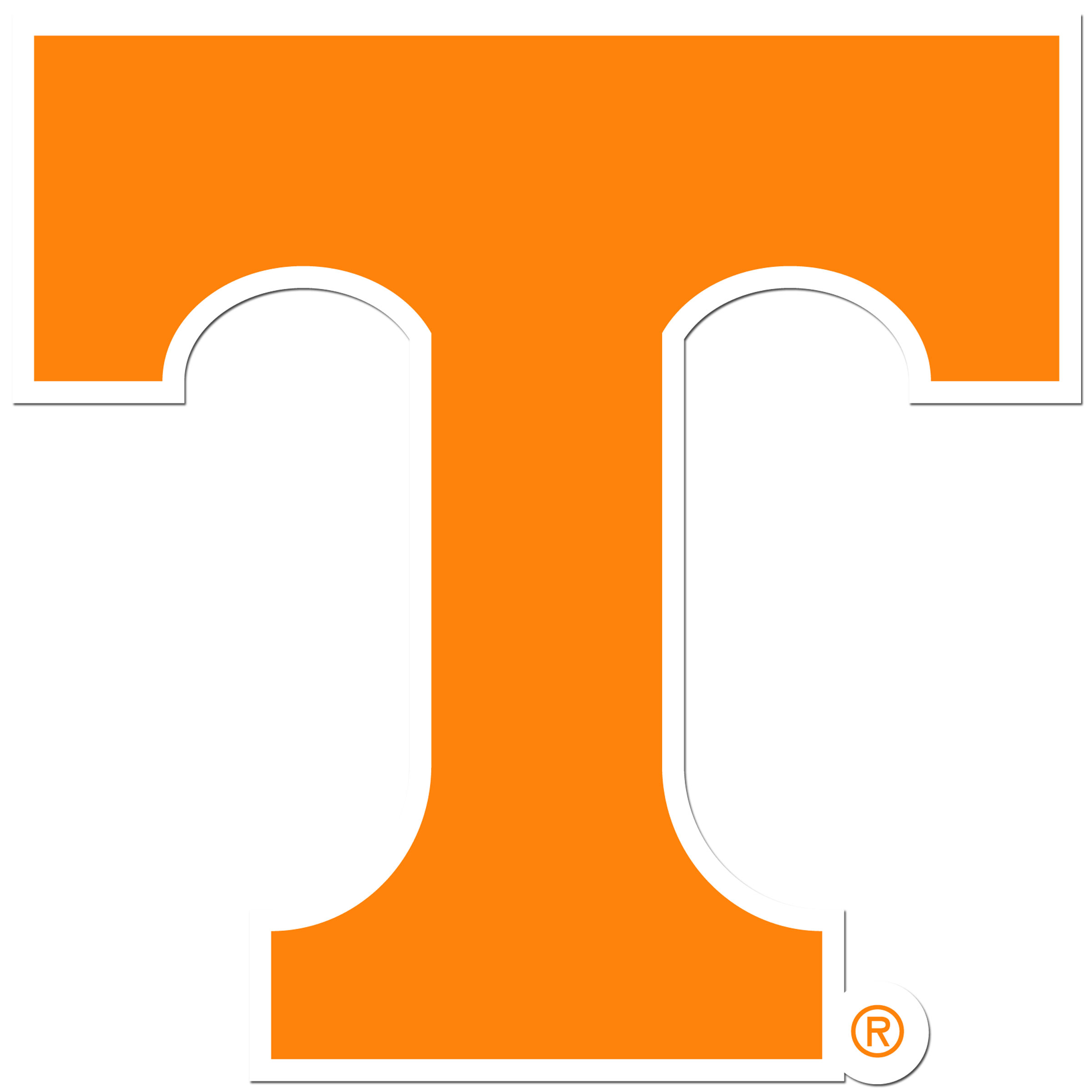 Tennessee Volunteers 8 inch Auto Decal - This bold, 8 inch Tennessee Volunteers is a great way to show off your team pride! The low tack vinyl decal is easily positioned and adjusted to make sure you get that logo in just the right spot on your vehicle. Designed to be used on the outside of the window.