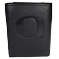 Oregon Ducks Embossed Leather Tri-fold Wallet