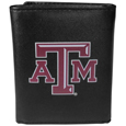 Texas A & M Aggies Leather Tri-fold Wallet, Large Logo