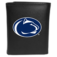 Penn St. Nittany Lions Leather Tri-fold Wallet, Large Logo