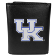 Kentucky Wildcats Leather Tri-fold Wallet, Large Logo