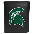 Michigan St. Spartans Leather Tri-fold Wallet, Large Logo