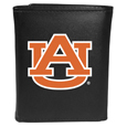 Auburn Tigers Leather Tri-fold Wallet, Large Logo