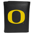 Oregon Ducks Leather Tri-fold Wallet, Large Logo