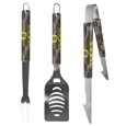 Oregon Ducks 3 pc BBQ Set w/Mossy Oak Camo