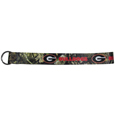 Georgia Bulldogs Lanyard Key Chain, Mossy Oak