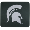 Michigan St. Spartans Mouse Pad - This licensed neoprene Michigan St. Spartans Mouse Pad has the Michigan St. Spartans silk screen on the pad and are 7 x 8 inches in size. Thank you for shopping with CrazedOutSports.com