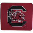 S. Carolina Gamecocks Mouse Pads - Our licensed neoprene mouse pads have the S. Carolina Gamecocks silk screen on the pad and are 7 x 8 inches in size. Thank you for shopping with CrazedOutSports.com