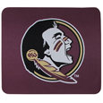 Florida St. Seminoles Mouse Pads - Our licensed neoprene mouse pads have the Florida St. Seminoles silk screen on the pad and are 7 x 8 inches in size. Thank you for shopping with CrazedOutSports.com