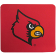 Louisville Cardinals Mouse Pads - This licensed neoprene Louisville Cardinals mouse pad has the Louisville Cardinals silk screen on the pad and are 7 x 8 inches in size. Thank you for shopping with CrazedOutSports.com