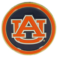 Auburn Tigers Golf Ball Marker, Logo