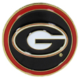 Georgia Bulldogs Golf Ball Marker, Logo
