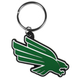 North Texas Mean Green Flex Key Chain