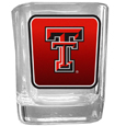 Texas Tech Raiders Square Glass Shot Glass