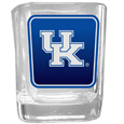 Kentucky Wildcats Square Glass Shot Glass