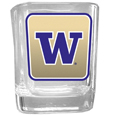Washington Huskies Square Glass Shot Glass