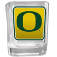 Oregon Ducks Square Glass Shot Glass