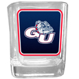 Gonzaga Bulldogs Square Glass Shot Glass