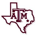 Texas A & M Aggies Home State 11 Inch Magnet