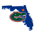 Florida Gators Home State 11 Inch Magnet