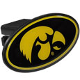 Iowa Hawkeyes Plastic Hitch Cover Class III - This affordable Iowa Hawkeyes Plastic Hitch Cover Class III features a large Iowa Hawkeyes dome. The unique design requires no additional hardware for installation. It snaps easily into place on your Class III hitch receiver.