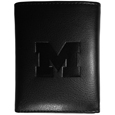 Michigan Wolverines Embossed Tri-fold Wallet - This officially licensed Michigan Wolverines Embossed Tri-fold Wallet looks great and is affordably priced. The Michigan Wolverines Embossed Tri-fold Wallet has the classy feel of a much higher priced wallet and features an embossed Michigan Wolverines logo on the front. The Michigan Wolverines Embossed Tri-fold Wallet has a windowed ID slot, lots of credit card slots and 2 big bill-fold pockets and removable plastic picture insert. Thank you for shopping with CrazedOutSports.com