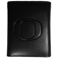 Oregon Ducks Embossed Tri-fold Wallet - Our officially licensed embossed tri-fold wallet looks great and is affordably priced. The wallet has the classy feel of a much higher priced wallet and features an embossed Oregon Ducks logo on the front. The wallet has a windowed ID slot, lots of credit card slots and 2 big bill-fold pockets and removable plastic picture insert. Thank you for shopping with CrazedOutSports.com