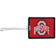Ohio St. Buckeyes Vinyl Luggage Tag