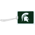 Michigan St. Spartans Vinyl Luggage Tag