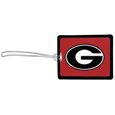 Georgia Bulldogs Vinyl Luggage Tag