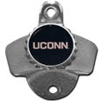 UCONN Huskies Wall Mounted Bottle Opener - Our UCONN Huskies sturdy wall mounted bottle opener is a great addition for your deck, garage or bar to show off your team spirit.