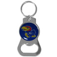 Kansas Jayhawks Bottle Opener Key Chain