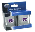 Kansas St. Wildcats Shot Glass Set