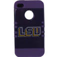LSU Tigers iPhone 4/4S Rocker Case