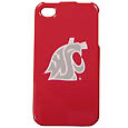 Washington St. Cougars iPhone 4/4S Snap on Case