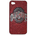 Ohio St. Buckeyes iPhone 4/4S Glitz Snap on Case