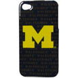 Michigan Wolverines iPhone 4/4S Graphics Snap on Case