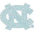 N. Carolina Tar Heels Bling Decal
