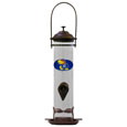 Kansas Jayhawks Thistle Bird Feeder