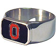 Ohio St. Buckeyes Steel Ring