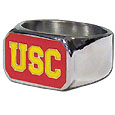 USC Trojans Steel Ring