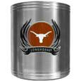 Texas Longhorns Steel Can Cooler Flame Emblem