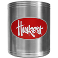 Nebraska Cornhuskers Steel Can Cooler