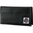 Ohio St. Buckeyes Deluxe Leather Checkbook Cover